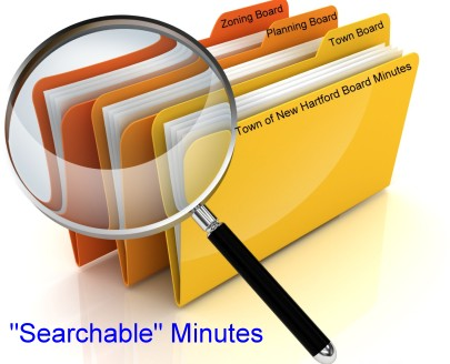 Search Town Minutes